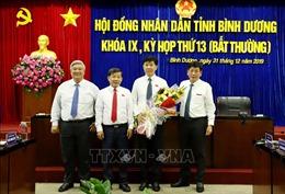 Ông Nguyễn Thanh Trúc được bầu giữ chức Phó Chủ tịch UBND tỉnh Bình Dương