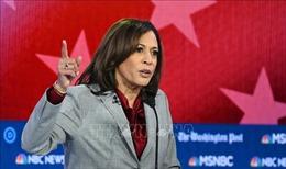 Ứng cử viên Kamala Harris của đảng Dân chủ Mỹ chấm dứt chiến dịch tranh cử