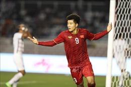 Tiến Linh, Đức Chinh thay nhau lập công, U22 Việt Nam dẫn trước 3 bàn