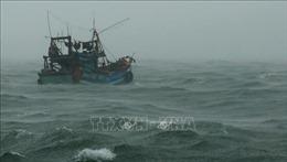 Đề phòng gió mạnh, sóng lớn trên biển