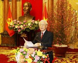 Thông điệp của Tổng Bí thư, Chủ tịch nước Nguyễn Phú Trọng: Việt Nam sẽ đảm nhận thành công các trọng trách quốc tế*