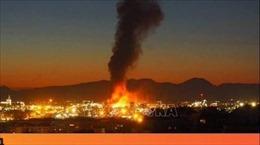 Cháy nổ nhà máy hóa chất ở Tây Ban Nha