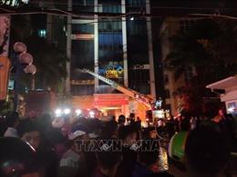 Cháy lớn tại Tòa nhà Dầu khí ở Thanh Hoá, một người tử vong