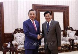 Việt Nam và Lào thúc đẩy hợp tác trong lĩnh vực an ninh