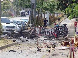 18 người bị thương trong vụ nổ bom ở miền Nam Thái Lan