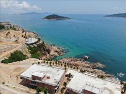 Ba dự án du lịch ven biển Quy Nhơn bị buộc dừng thi công