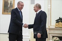 Tổng thống Nga và Thổ Nhĩ Kỳ hội đàm về chiến sự căng thẳng ở tỉnh Idlib của Syria