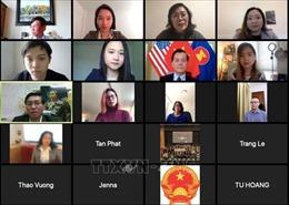 Giao lưu trực tuyến về bảo hộ công dân Việt Nam trong đại dịch COVID-19 tại Mỹ