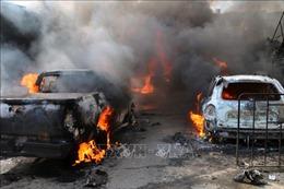 Đánh bom xe tải chở nhiên liệu, gần 100 người thương vong
