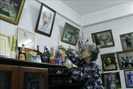 Hình ảnh 'vị cha già dân tộc'trong lòng kiều bào Lào