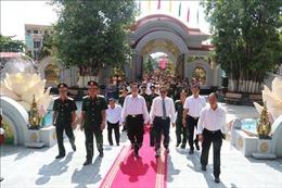Khánh thành Khu nhà tưởng niệm Chủ tịch Hồ Chí Minh