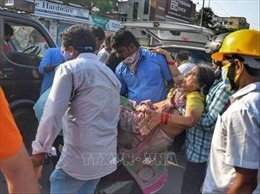 Số người nhập viện do vụ rò rỉ khí độc tại Ấn Độ tăng lên 1.000 người
