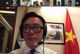 Thanh niên Ấn Độ, ASEAN đẩy mạnh hợp tác giai đoạn dịch COVID-19