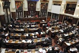 Quốc hội Bolivia thông qua thời gian tổng tuyển cử