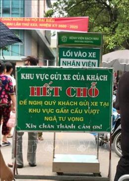 Thiếu điểm đỗ xe ở Hà Nội - Bài cuối: Hệ lụy và giải pháp