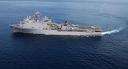 Tàu hải quân Mỹ tuần tra ở Biển Đen