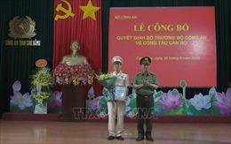 Đại tá Vũ Hồng Quang làm Giám đốc Công an tỉnh Cao Bằng