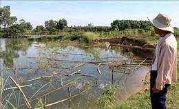 Tình trạng khai thác cát trái phép trên sông Bồ đã tạm lắng