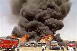 Nổ bồn chứa nhiên liệu tại khu công nghiệp ở Iran