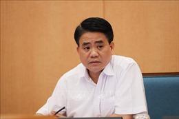 Tạm đình chỉ công tác Chủ tịch UBND thành phố Hà Nội Nguyễn Đức Chung