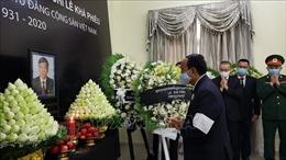 Đại sứ quán Việt Nam tại Campuchia tổ chức trọng thể Lễ viếng nguyên Tổng Bí thư Lê Khả Phiêu
