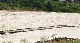 Mưa lớn gây ngập cục bộ ở Phú Thọ, nhiều xã bị cô lập