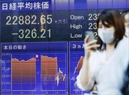 Chứng khoán châu Âu và châu Á giảm điểm mạnh