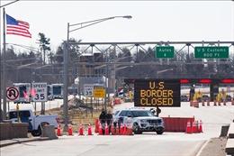 Quan chức Mỹ khuyến nghị duy trì lệnh đóng cửa biên giới với Canada