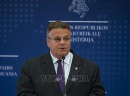 Ngoại trưởng Litva đang tự cách ly