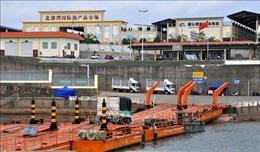 Khoảng giữa tháng 10 thông quan trở lại cửa khẩu Ka Long