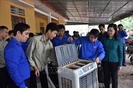 Trên 400 đoàn viên, thanh niên Hà Tĩnh tham gia khắc phục hậu quả lũ lụt