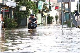 Đỉnh triều cường ở Nam Bộ tăng, nguy cơ ngập úng vùng trũng thấp ven biển