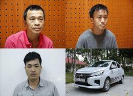 Bắt nhóm đối tượng đi ô tô trộm cắp tài sản liên tỉnh