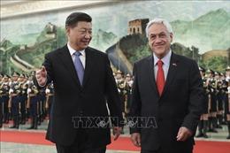 Lãnh đạo Trung Quốc, Chile nhất trí thúc đẩy hợp tác song phương