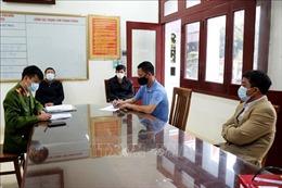 Quảng Ninh xử phạt 5 trường hợp trốn chốt kiểm soát dịch COVID-19