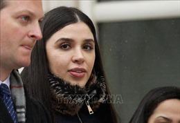Mỹ bắt giữ vợ của trùm ma túy khét tiếng 'El Chapo'