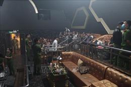 Bắt quả tang 36 đối tượng sử dụng ma túy trong quán bar