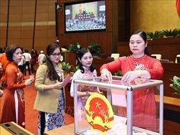 Quốc hội miễn nhiệm Chủ tịch Quốc hội khóa XIV, Chủ tịch Hội đồng bầu cử quốc gia