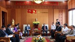 Thúc đẩy giao thương hàng hoágiữa các tỉnh miền Trung Việt Nam và các tỉnh Nam Lào