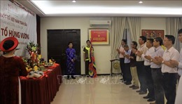 Cộng đồng người Việt tại Malaysia thành kính hướng về cội nguồn tiên tổ
