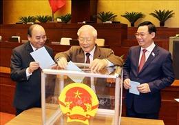 Chùm ảnh Quốc hội miễn nhiệm chức vụ Chủ tịch nước