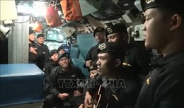 Vụ chìm tàu ngầm của Indonesia:Xuất hiện video thủy thủ ca hát trước tai nạn