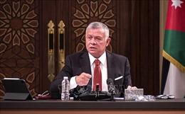 Quốc vương Abdullah thông báo về cuộc khủng hoảng ở Jordan
