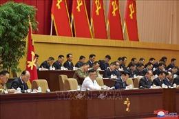 Nhà lãnh đạo Kim Jong Un chỉ đạo công tác phát triển đảng Lao động Triều Tiên
