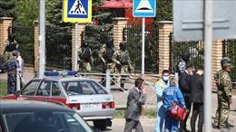 Vụ xả súng tại trường học Nga: Tổng thống V.Putin yêu cầu siết chặt quy định sử dụng súng