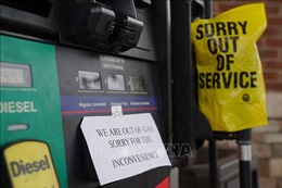 Hơn 1.000 trạm xăng tại khu vực Đông Bắc Mỹ đang cạn kiệt