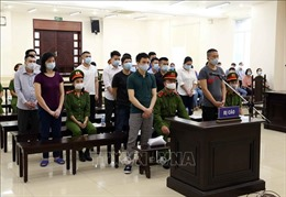 Xét xử vụ Công ty Nhật Cường: 14 bị cáo ra hầu tòa, đình chỉ xét xử 1 bị cáo