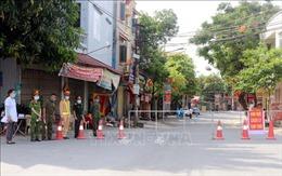 Hà Nam phong tỏa tạm thời một khu vực tại thị trấn Quế