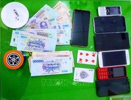 11 người tụ tập đánh bạc trong thời gian giãn cách xã hội