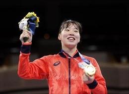 Olympic Tokyo 2020: Nữ võ sĩ quyền anh Nhật Bản đầu tiên giành HCV